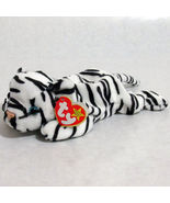 Ty Blizzard Beanie Baby Tiger Beanbag Plush 199... - $7.87