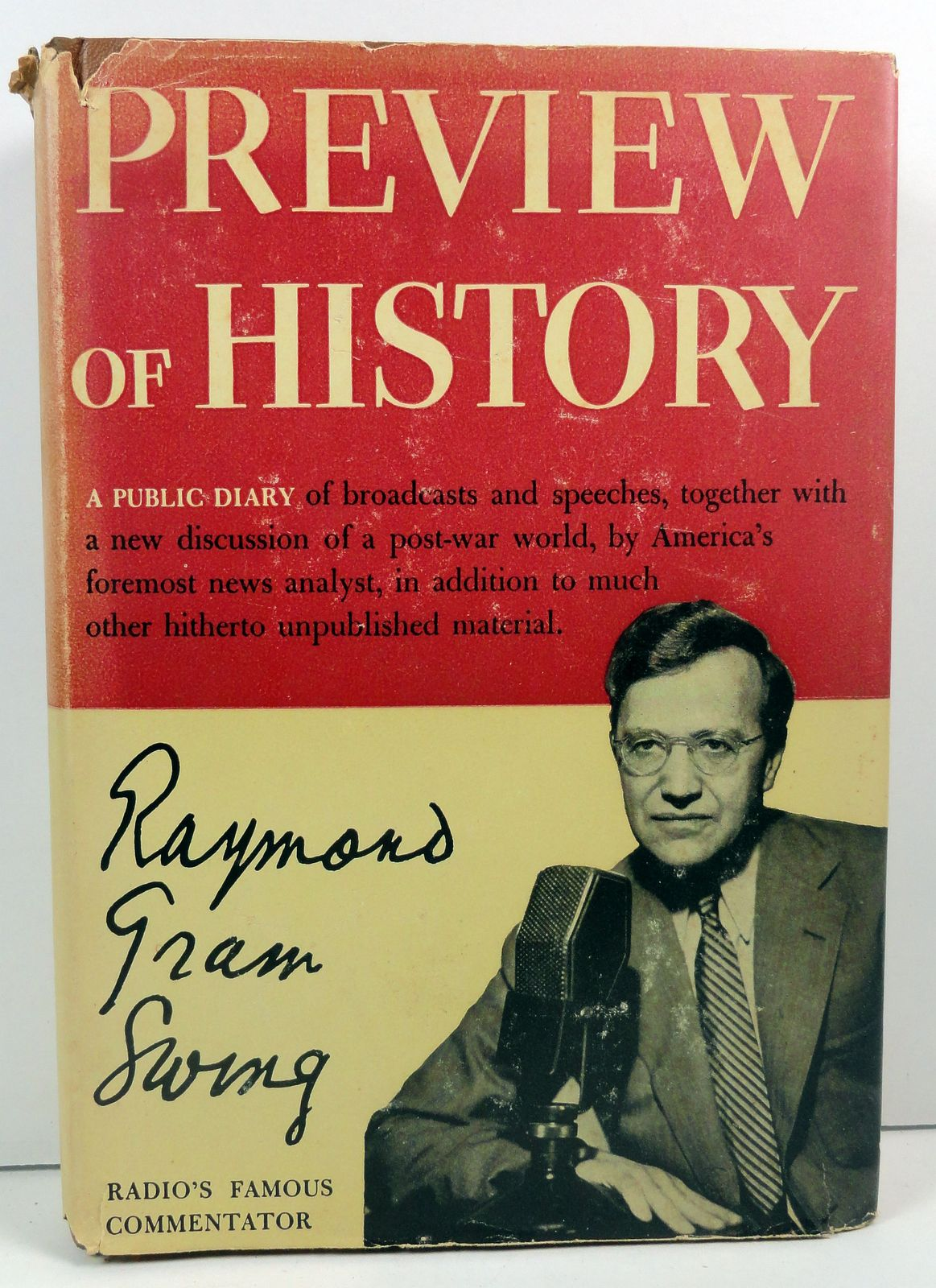 Preview of History by Raymond Gram Swing 1943 HC/DJ
