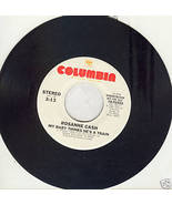 "Roseanne Cash 45 rpm ""My Baby Thinks He's A Train"" - $2.24"