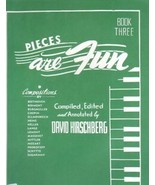 Pieces Are Fun Book Three David Hirschberg - $6.95