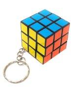 Rubik's Cube Key Ring H1 Colorful Cute - $12.75