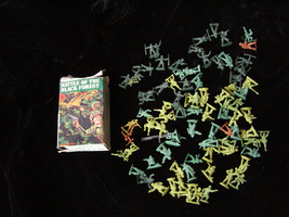 Battle For The Black Forest Play Set Figures 1 Inch Size 1960s - $16.99