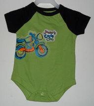 """Newborn's 0-3 Months """"Motorcycle"""" Onesie - $8.00"""