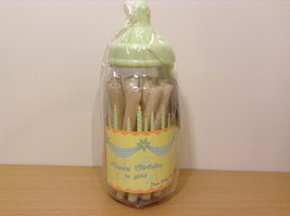 Stephan Baby Bottled Up Birthday Wishes Gift Set 18 Paper Wish Rolls In Bottle