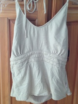 women's tan halter top by Rusty size large - $19.99