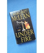 Under Fire by Margaret McLean used paperback bo... - $3.50