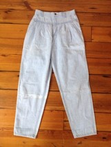 Vtg LEE 80s 90s Light Wash Pleated Front Straight Leg Classic Fit USA Je... - $33.99