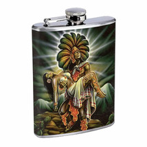 Savage Pirate Pin Up D10 Flask 8oz Stainless Steel Hip Drinking Whiskey Rum