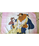 Vintage Beauty & The Beast Bell Disney Pillow Case - $12.99