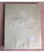 Vintage SEARS Cling-alon Hosiery Cardboard Advertising Box • Sunset •BO... - $10.84