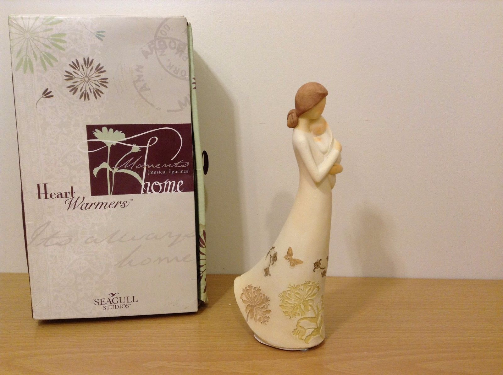 New Seagull Studios Heart Warmers Home A Mother's Heart Figurine Resin