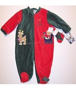 NWT Little Me My First Christmas Corduroy Velou... - $12.99