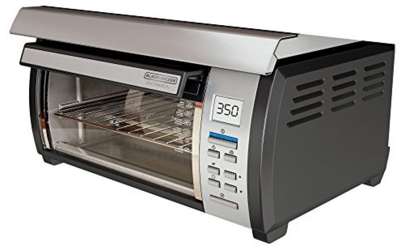 toaster oven cabinet space saver digital stainless