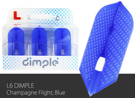 L-Style Slim L6d Dimple Champagne Flights - Blue - $7.49