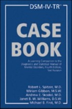 Casebook : A Learning Companion to the DSM Manual DSM-IV-TR - $9.95