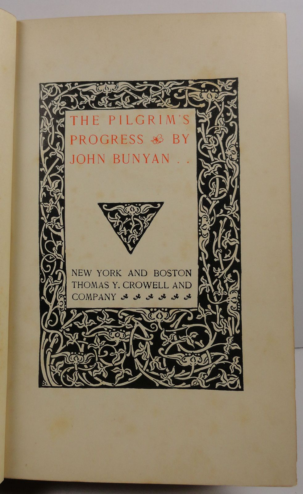 The Pilgrim's Progress by John Bunyan Thomas Y Crowell