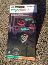 BRAND NEW! LED light show projection pumpkins phantasm halloween yard decor - $24.99