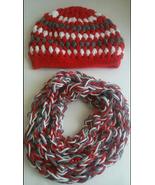 Alabama Crimson Tide Crochet  Beanie Hat & Scarf Set - $30.75