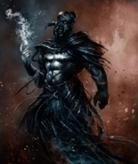 Shaitan Djinn::CUSTOM SPIRIT CONJURE::Dark Art Wish Black Magick Entity - $100.00