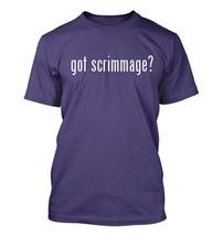 got scrimmage? Men's Adult Short Sleeve T-Shirt   - $24.97