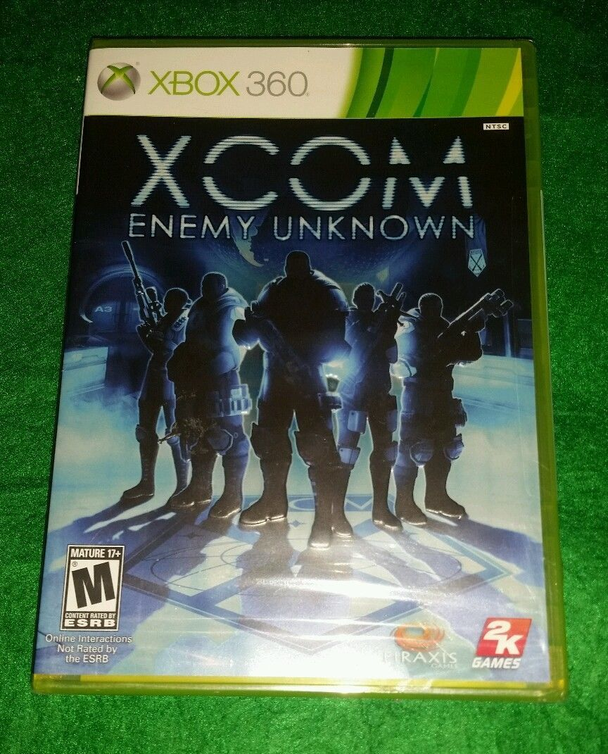 XCOM: Enemy Unknown (Microsoft Xbox 360, 2012) New Video Game