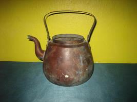 Vintage Copper OPA Helsinki FINLAND Handmade Teapot/Kettle Peltiteos, O.... - $85.00