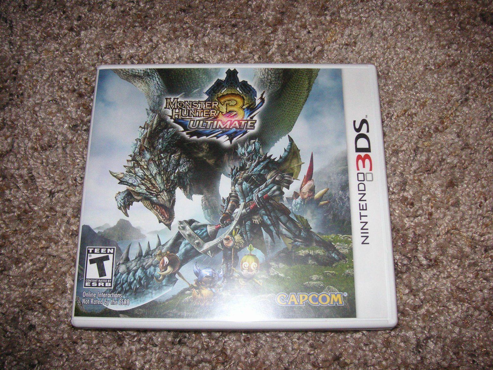 Monster Hunter 3 Ultimate Nintendo 3DS Video Game