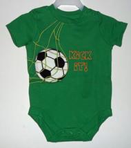 """Baby's """"Soccer"""" Onesie Size 3-6 Months - $8.00"""