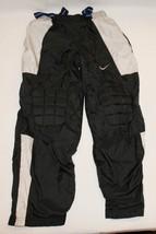 Nike Boys Athletic Pants S 10 Padded Knees Black Gray Sweat Basketball - $12.70