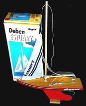 Deben Estuary Skipper Wooden Sailing Yacht Engl... - $29.02