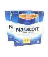 Nasacort Allergy 24 Hour 120 Sprays 2pack  Exp 9/2020 (240 total) - $13.88