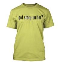 got story-writer? Men's Adult Short Sleeve T-Shirt   - $24.97