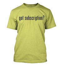 got subscription? Men's Adult Short Sleeve T-Shirt   - $24.97