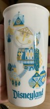 Disneyland Resort Starbucks Mickey Icon It's A World Ceramic Travel Tumb... - $27.43