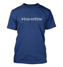 #travertine - Hashtag Men's Adult Short Sleeve T-Shirt  - $24.97