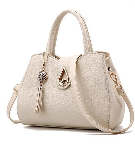 Free Shippibng Women Messenger Bags Leather Shoulder Bags Medium Tote Bags G24-5