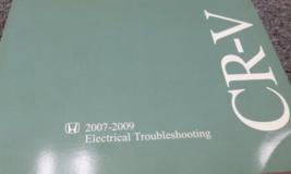 2007 2008 2009 Honda Électrique Dépannage Diagramme Câblage Manuel - $22.75