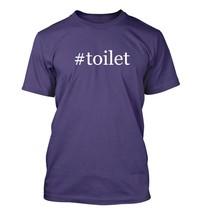 #toilet - Hashtag Men's Adult Short Sleeve T-Shirt  - $24.97