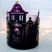 Whimsical Halloween Haunted House | *Bath & Body Works* Candle Sleeve Holder  - $18.76