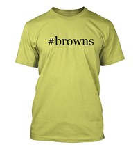 #browns - Hashtag Men's Adult Short Sleeve T-Shirt  - $24.97