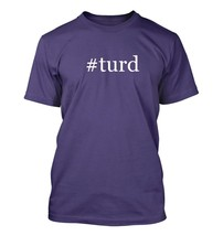 #turd - Hashtag Men's Adult Short Sleeve T-Shirt  - $24.97