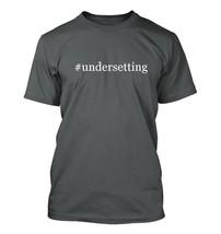 #undersetting - Hashtag Men's Adult Short Sleeve T-Shirt  - $24.97