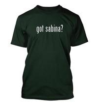 got sabina? Men's Adult Short Sleeve T-Shirt   - $24.97