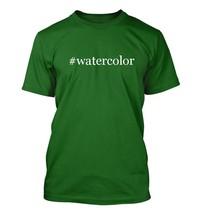 #watercolor - Hashtag Men's Adult Short Sleeve T-Shirt  - $24.97
