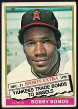 1976 Topps Traded #380T Bobby Bonds VG-EX - $0.99
