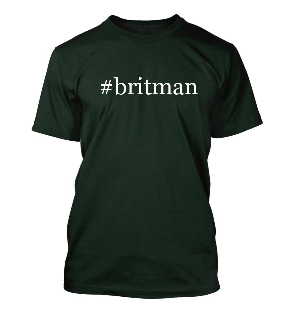 #britman - Hashtag Men's Adult Short Sleeve T-Shirt