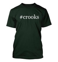 #crooks - Hashtag Men's Adult Short Sleeve T-Shirt  - $24.97