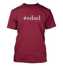 #edsel - Hashtag Men's Adult Short Sleeve T-Shirt  - $24.97