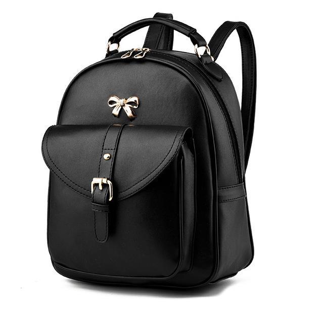 Sweet Girl's Leather School Backpacks Medium Bookbags,Backpacks G034-1