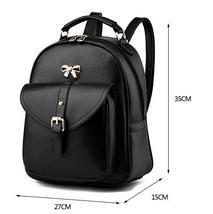 Sweet Girl's Leather School Backpacks Medium Bookbags,Backpacks G034-1 image 2